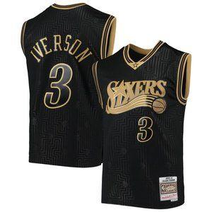 NBA Nike Philadelphia 76ers Allen Iverson Jersey 3